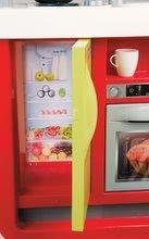 Kuchynky pre deti sety - Set kuchynka Cherry Special Smoby so zvukmi a kávovarom a upratovací vozík s vysávačom_1