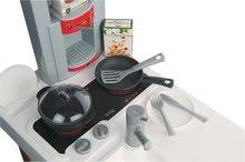 Kuchynky pre deti sety - Set kuchynka Cherry Special Smoby so zvukmi a kávovarom a upratovací vozík s vysávačom_2