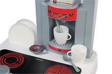 Kuchynky pre deti sety - Set kuchynka Cherry Special Smoby so zvukmi a kávovarom a upratovací vozík s vysávačom_3