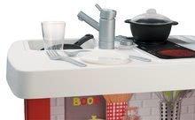 Kuchynky pre deti sety - Set kuchynka Cherry Special Smoby so zvukmi a kávovarom a upratovací vozík s vysávačom_7