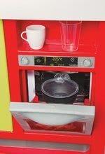 Kuchynky pre deti sety - Set kuchynka Cherry Special Smoby so zvukmi a kávovarom a upratovací vozík s vysávačom_9