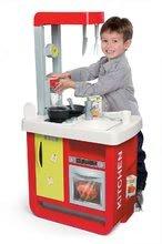 Kuchynky pre deti sety - Set kuchynka Cherry Special Smoby so zvukmi a kávovarom a upratovací vozík s vysávačom_11