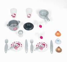 Staré položky - Set kuchynka Máša a medveď Smoby s kávovarom, športový kočík pre bábiku (55 cm rúčka) a bábika so šatôčkami_3