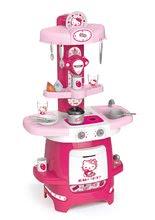 Staré položky - Set kuchynka Máša a medveď Smoby s kávovarom, športový kočík pre bábiku (55 cm rúčka) a bábika so šatôčkami_1
