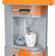 Elektronické kuchynky - Kuchynka Tefal Studio XL Smoby elektronická so zvukmi, s jedálňou a chladničkou s 36 doplnkami oranžovo-šedá_11