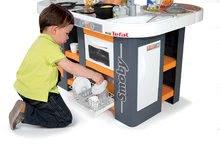 Elektronické kuchynky - Kuchynka Tefal Studio XL Smoby elektronická so zvukmi, s jedálňou a chladničkou s 36 doplnkami oranžovo-šedá_13
