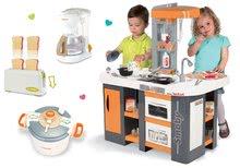 Kuchynky pre deti sety - Set kuchynka Tefal Studio XL Smoby so zvukmi a chladničkou a 3 kuchynské spotrebiče Tefal_24
