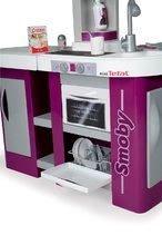 Kuchynky pre deti sety - Set kuchynka Tefal Studio XL Smoby s umývačkou riadu a chladničkou a sušička na riad Bubble Cook_3
