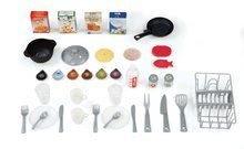Kuchynky pre deti sety - Set kuchynka Tefal Studio XL Smoby s umývačkou riadu a chladničkou a sušička na riad Bubble Cook_9