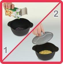 Kuchynky pre deti sety - Set kuchynka Tefal Studio XL Smoby s umývačkou riadu a chladničkou a sušička na riad Bubble Cook_12
