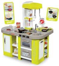 Elektronická detská kuchynka Tefal Studio XL Smoby s 36 doplnkami 311024 zelená