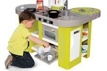 Hry na domácnosť - Set upratovací vozík Smoby s elektronickým vysávačom Rowenta a kuchynka Tefal so zvukmi_4