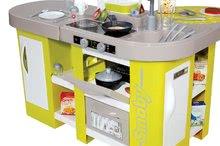 Hry na domácnosť - Set upratovací vozík Smoby s elektronickým vysávačom Rowenta a kuchynka Tefal so zvukmi_10