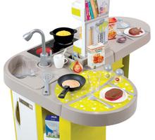 Hry na domácnosť - Set upratovací vozík Smoby s elektronickým vysávačom Rowenta a kuchynka Tefal so zvukmi_12