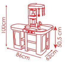 Hry na domácnosť - Set upratovací vozík Smoby s elektronickým vysávačom Rowenta a kuchynka Tefal so zvukmi_14