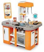 Elektronická detská kuchynka Tefal Studio XL Smoby s 34 doplnkami 311026 oranžová