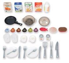 Kuchynky pre deti sety - Set kuchynka Tefal Studio XL Smoby so zvukmi a chladničkou a košík s riadom100% Chef_6