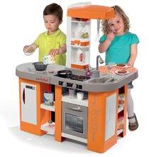 Kuchynky pre deti sety - Set kuchynka Tefal Studio XL Smoby so zvukmi a chladničkou a košík s riadom100% Chef_11