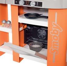 Kuchynky pre deti sety - Set kuchynka Tefal Studio XL Smoby so zvukmi a chladničkou a košík s riadom100% Chef_1