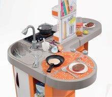 Kuchynky pre deti sety - Set kuchynka Tefal Studio XL Smoby so zvukmi a chladničkou a košík s riadom100% Chef_4