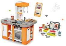 Kuchynky pre deti sety - Set kuchynka Tefal Studio XL Smoby so zvukmi a chladničkou a elektronická dotyková pokladňa_31