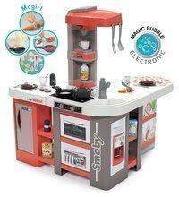 Kuchynka elektronická Tefal Studio 360° XXL Bubble Smoby mrkvová s magickým bublaním, ľadom a cestoviny s mrkvou a 39 doplnkov 100 cm výška 86*84*100 cm (prac.plocha 51 cm) SM311046