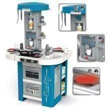 Kuchynky pre deti sety - Set kuchynka s technickým vybavením Tech Edition Smoby elektronická so stolom a dvoma stoličkami_9