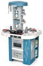 Kuchynky pre deti sety - Set kuchynka s technickým vybavením Tech Edition Smoby elektronická so stolom a dvoma stoličkami_6