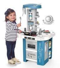 Kuchynky pre deti sety - Set kuchynka s technickým vybavením Tech Edition Smoby elektronická so stolom a dvoma stoličkami_2