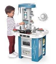 Kuchynky pre deti sety - Set kuchynka s technickým vybavením Tech Edition Smoby elektronická so stolom a dvoma stoličkami_8