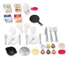 Elektronické kuchynky - Kuchynka CookMaster Smoby elektronická so zvukmi, s ľadom, opečenými potravinami a 36 doplnkami červená_0