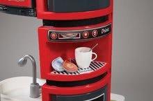 Elektronické kuchynky - Kuchynka CookMaster Smoby elektronická so zvukmi, s ľadom, opečenými potravinami a 36 doplnkami červená_3