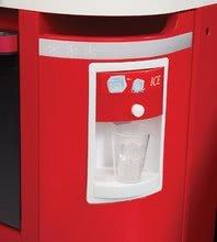 Elektronické kuchynky - Kuchynka CookMaster Smoby elektronická so zvukmi, s ľadom, opečenými potravinami a 36 doplnkami červená_5