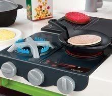 Kuchynky pre deti sety - Set kuchynka CookMaster Verte Smoby s ľadom a zvukmi a dotyková elektronická pokladňa s funkciami_1