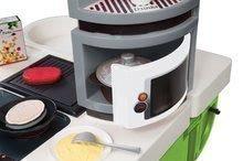 Kuchynky pre deti sety - Set kuchynka CookMaster Verte Smoby s ľadom a zvukmi a dotyková elektronická pokladňa s funkciami_3