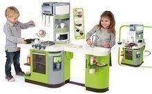 Kuchynky pre deti sety - Set kuchynka CookMaster Verte Smoby s ľadom a zvukmi a dotyková elektronická pokladňa s funkciami_10