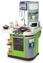 Kuchynky pre deti sety - Set kuchynka CookMaster Verte Smoby s ľadom a zvukmi a dotyková elektronická pokladňa s funkciami_11