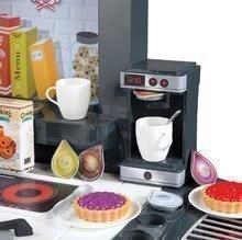 Elektronické kuchynky - Kuchynka Tefal French Touch Bublinky&Voda Smoby elektronická s magickým bublaním, tečúcou vodou a 45 doplnkami červeno-šedá_3