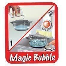 Elektronické kuchynky - Kuchynka Tefal French Touch Bublinky&Voda Smoby elektronická s magickým bublaním, tečúcou vodou a 45 doplnkami červeno-šedá_8