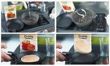 Elektronické kuchynky - Kuchynka Tefal French Touch Bublinky&Voda Smoby elektronická s magickým bublaním, tečúcou vodou a 45 doplnkami červeno-šedá_9