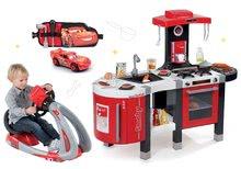Set kuchynka pre deti Tefal French Touch Smoby elektronická so zvukmi a trenažér V8 Driver s funkciami a opaskom