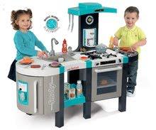 Kuchynky pre deti sety - Set kuchynka Tefal French Touch Smoby s ľadom a kávovarom a stôl Piknik s dvoma stoličkami KidChair Blue_8