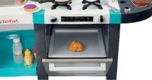 Kuchynky pre deti sety - Set kuchynka Tefal French Touch Smoby s ľadom a kávovarom a stôl Piknik s dvoma stoličkami KidChair Blue_2