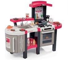 Kuchynky pre deti sety - Set kuchynka Tefal SuperChef Smoby s grilom a kávovarom a elektronický kamión s autíčkom Autá Ice_0
