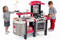 Kuchynky pre deti sety - Set kuchynka Tefal SuperChef Smoby s grilom a kávovarom a elektronický kamión s autíčkom Autá Ice_20
