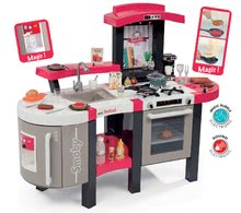 Detská kuchynka Tefal Super Chef Deluxe Smoby od 3 rokov jahodovo-béžová