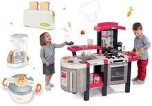 Kuchynky pre deti sety - Set kuchynka Tefal SuperChef Smoby s grilom a kávovarom a 3 kuchynské spotrebiče Tefal_29