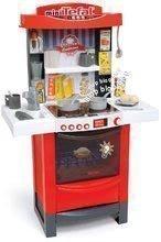 Bucătărie Tefal Cook'tronic Smoby cu efecte sonorice şi de lumini şi 20 accesorii