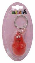 Detské pero a kľúčenka Barbapapa Hasbro mini červené