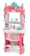 Bucătărie Prințesele Smoby cu turnulețe și 19 accesorii cu două părți